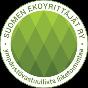 Suomen ekoyrittäjät ry logo
