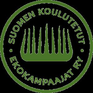 Suomen koulutetut ekokampaajat ry logo